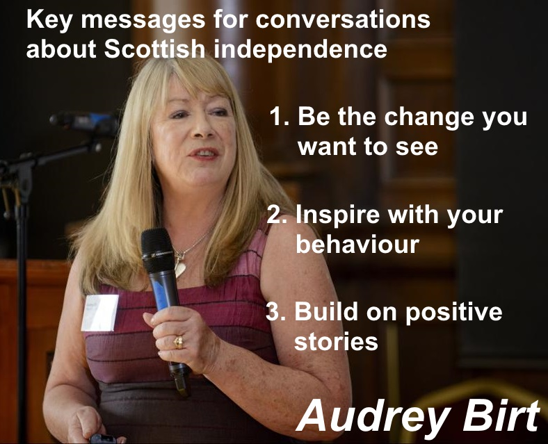 Livestream: How to talk about Independence Audrey Birt Feb 2018
