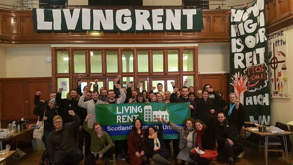 What is the Living Rent Campaign? Our June 2018 meeting
